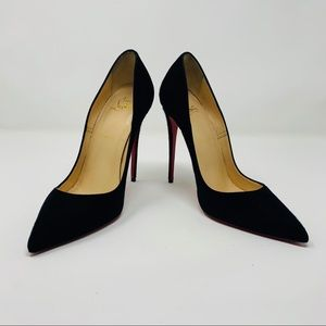 Christian Louboutin So Kate Suede Heels